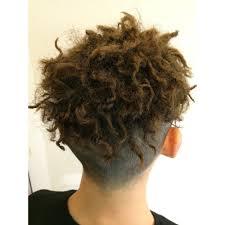ツーブロック ツイストパーマ Capelli Malenaカペリマレーナのヘア