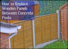 when fence panels blow out or bend the easiest repair is to put them back