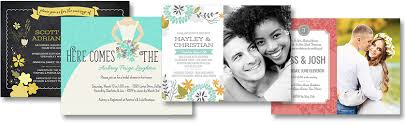 Upload And Print Invitations Online Online Wedding Invitations From Smilebox For Easy Planning