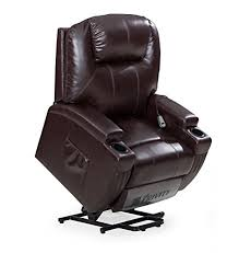 electric recliner chairs for the elderly. FrHome Power Lift Chair For Elderly, Classic And Traditional Bonded Leather 1 Seat Motion Sofa Electric Recliner Chairs The Elderly