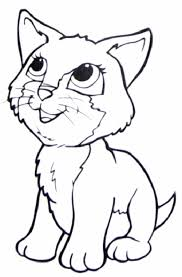 Small Picture Printable 30 Cute Cat Coloring Pages 4737 Cute Cat Coloring