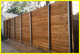horizontal wood and metal fence. Contemporary And Fence Design Horizontal Metal Marvelous Wood And  U Ideas Image Of With T