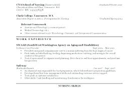 Resume Sample For Nursing Certified Nursing Assistant Resume Samples