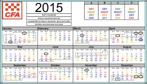 Firefighters Shift Calendar 2020 Shift Calendars Ufu Victoria