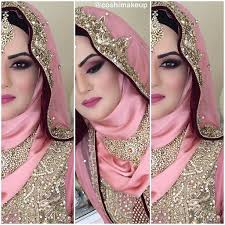realbride walima bridal hijab and makeup from the weekend by coshimakeup