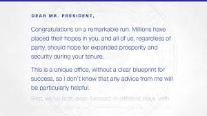 the inauguration day letter obama left for trump cnnpolitics obama s parting letter to trump revealed