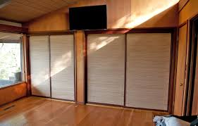 How To Cover Mirrored Closet Doors Bedroom Bamboo Closet Doors Bamboo Closet Doors Bamboo Bifold
