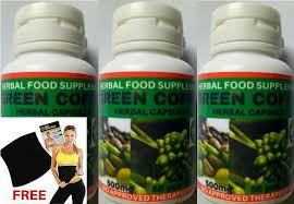 green coffee slimming herbal capsule 50capsules 500mg set of 3 big savings free