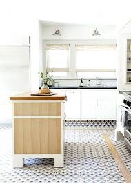 White kitchen dark tile floors Rectangle Shaped White Tile Floor In Kitchen Contemporary Blue Dark Tile Kitchen Floor White Cabinets White Marble Tile Eastlawus White Tile Floor In Kitchen Ask Maria Can Combine Faux Hardwood