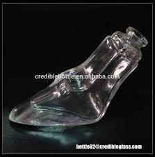 30ml new design high heel shoe shape glass perfume bottle
