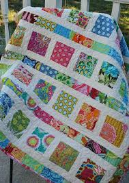 Bright Color Quilts Amy Butler Soul Blossoms Baby Toddler Quilt ... & Bright Color Quilts Amy Butler Soul Blossoms Baby Toddler Quilt Custom Made  To Order Throw Lap Adamdwight.com