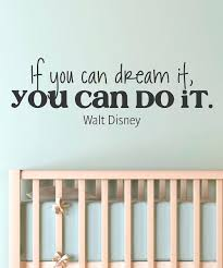 disney wall quotes decals magical wall decals for decorating bedrooms if  you can dream it you . disney wall quotes decals ...