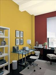 paint color for office. Gray Home Office Ideas - Mod Paint Color Schemes Ben Moore- Storm Cloud Accent Wall \u0026 Ceiling Smoke Walls Sebring White For
