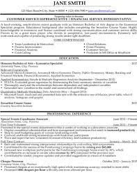Customer Service Representative Resume Sample & Template