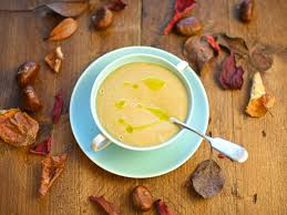 Gardeners Kitchen Parsnip And Chestnut Soup With Sage Oil The Circus Gardeners