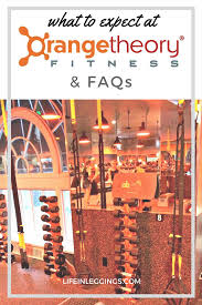 what to expect at orangetheory fitness faqs