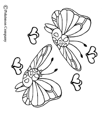 Small Picture Butterfree coloring pages Hellokidscom