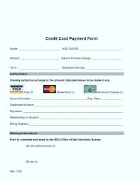 credit card charge authorization form template trend blank 7 word letter of