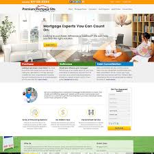 mortgage flyer template residential mortgage website templates