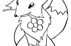 Coloring Pages Fox Coloring Pages Baby Fox Avusturyavizesiinfo