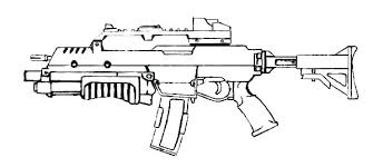 Printable Guns Coloring Pages Printable Gun Coloring Pages Pistol 2