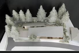 軽井沢のプロジェクトの最新案の模型写真をアップロードしました