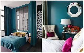 Wonderful Turquoise Source · Popular Photo Of 1 Dark Room Turquoise Jpg Pink Gray  Bedroom Concept