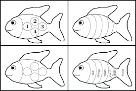this site contains all info about rainbow fish book coloring pages