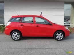2007 Radiant Red Toyota Matrix #20139831 Photo #2   GTCarLot.com ...