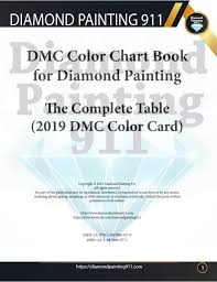 Dmc Color Chart For Diamond Painting Available On Amazon