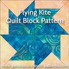 331 best Paper piecing images on Pinterest | Quilt patterns, Quilt ... & Flying Kite Quilt block: Download the FREE paper piecing pattern in 2 sizes Adamdwight.com