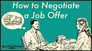 wage negotiations process got a job offer heres how to negotiate the salary higher