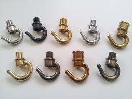 chandelier hook open hook brass 10mm