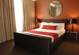 Orange And Black Bedroom Orange Wall Interior For Bedroom In Autocad That Can Be Decor With