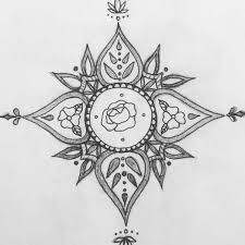 Tattoo Uploaded By Tete Mandala Flowers Tete Sketch Design