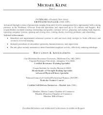 Resume Personal Profile Statement Examples Professional Resume