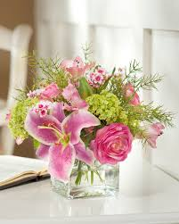 Decoration  Ideas Of Flower Arrangements For The Home  Interior Artificial Flower Decoration For Home