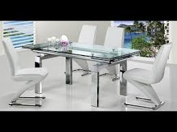 extendable glass dining table canada. extendable glass dining table with 6 chairs canada youtube