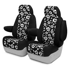 coverking cr grade neoprene 1st row black hawaiian black custom seat cover
