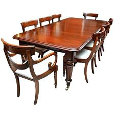 antique table and chairs mahogany dining furniture set solid round room small gumtree mahogan
