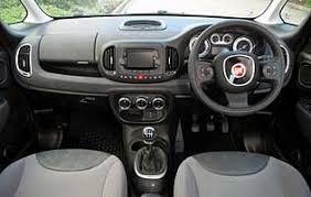 fiat 500l interior automatic. picture of car interior fiat 500l automatic