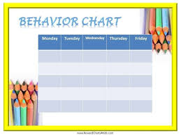 How To Make A Sticker Chart Free Printable Behavior Charts Customize Online