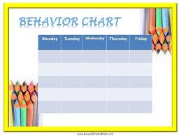 behavior charts for preschoolers template free printable behavior charts customize online