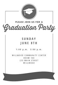 Free Graduation Party Invitations Templates Rome Fontanacountryinn Com