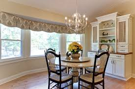 breakfast nook lighting ideas. beautiful window valance in dining room farmhouse with bay next to breakfast nook light alongside lighting ideas k