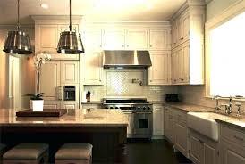 diy rustic kitchen island lighting