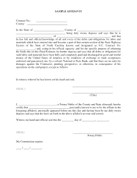 Sworn Affidavit Form Sworn Affidavit Form Sample Notary Diverting Vizarron 4