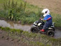 kid till 3 years with quad in the mud youtube