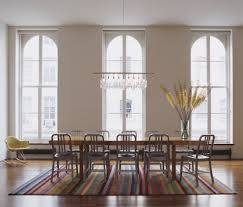 linear chandelier dining modern dining room crystal chandelier lighting