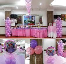 Princess Balloon Decoration Sofia The First Cebu Balloons And Party Supplies